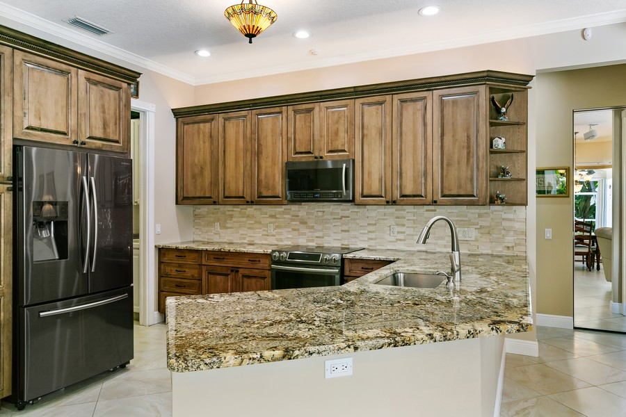 Real Estate Photography - 2705 Hancock Creek Road, West Palm Beach, FL, 33411 - Kitchen