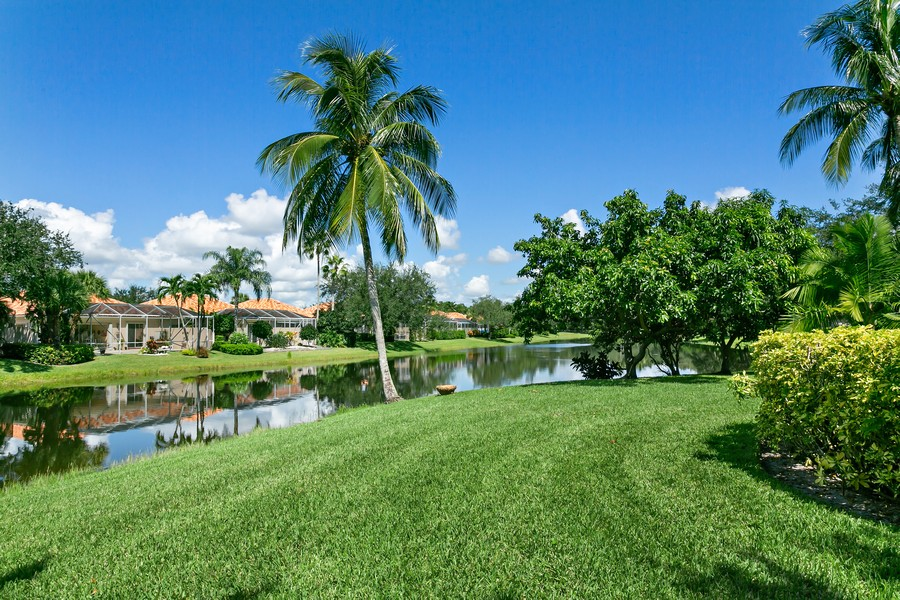 Real Estate Photography - 2705 Hancock Creek Road, West Palm Beach, FL, 33411 - Rear View