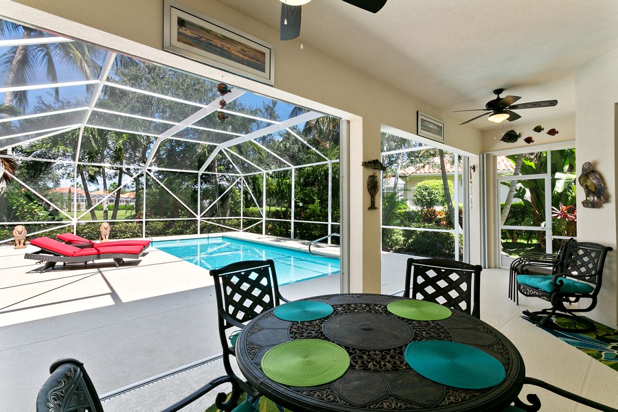 Real Estate Photography - 2705 Hancock Creek Road, West Palm Beach, FL, 33411 - Patio