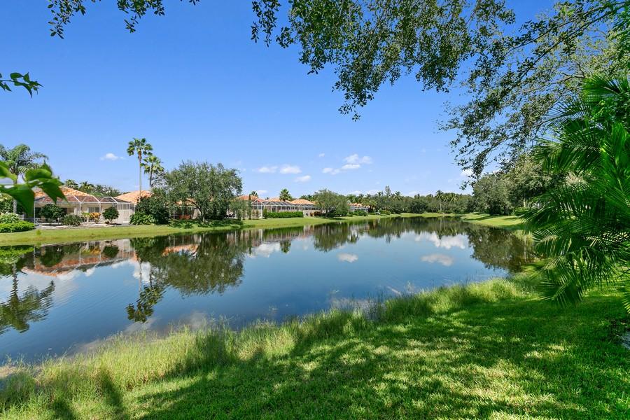 Real Estate Photography - 2705 Hancock Creek Road, West Palm Beach, FL, 33411 - Lake View