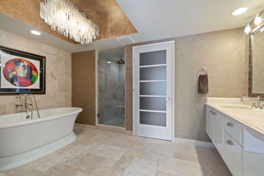 Real Estate Photography - 333 Las Olas Way, Unit 2406, Fort Lauderdale, FL, 33301 - Master Bathroom
