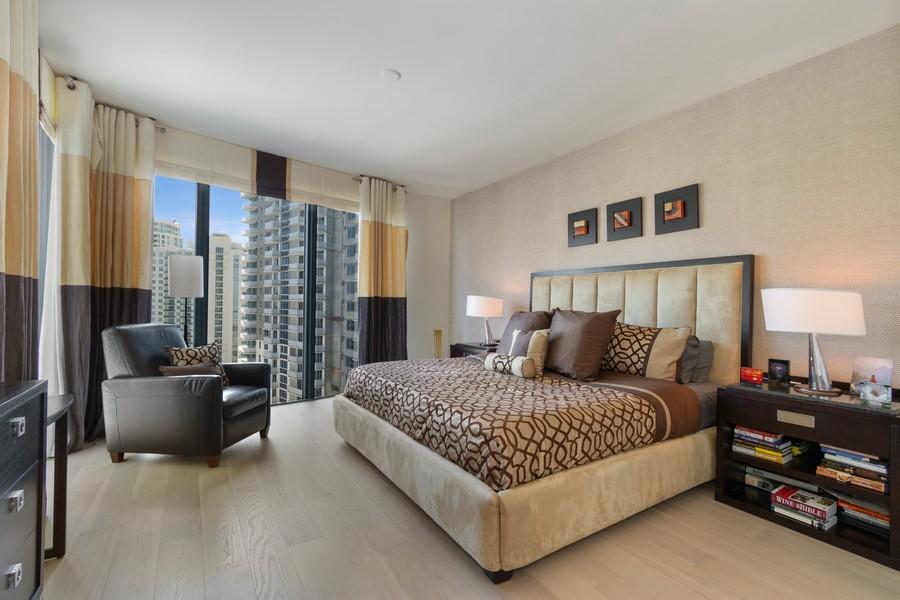 Real Estate Photography - 333 Las Olas Way, Unit 2406, Fort Lauderdale, FL, 33301 - Master Bedroom
