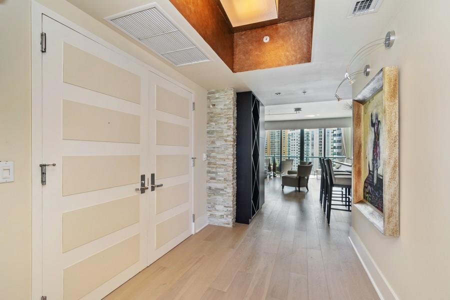 Real Estate Photography - 333 Las Olas Way, Unit 2406, Fort Lauderdale, FL, 33301 - Foyer