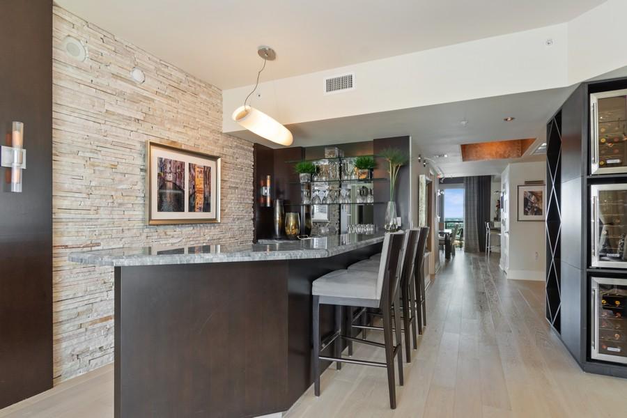 Real Estate Photography - 333 Las Olas Way, Unit 2406, Fort Lauderdale, FL, 33301 - Bar