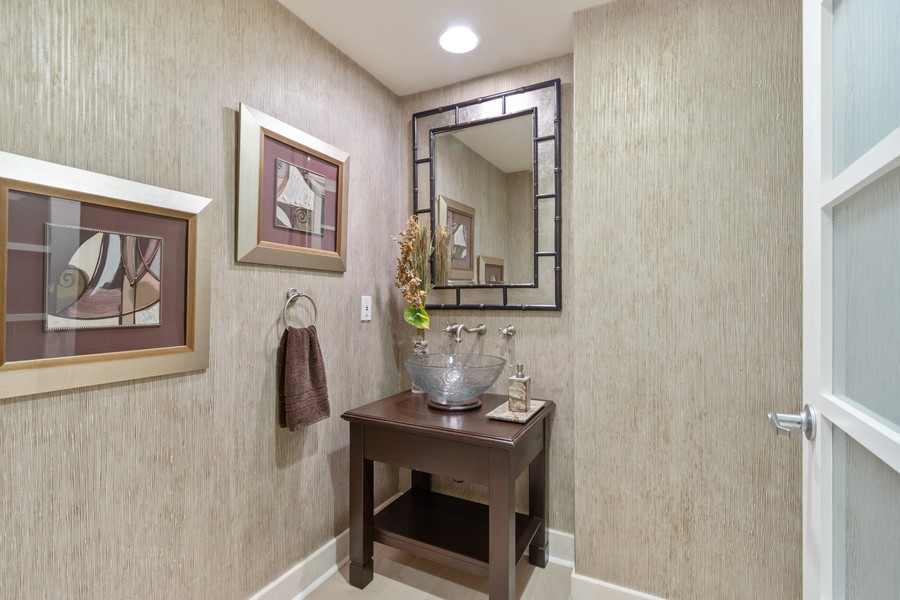 Real Estate Photography - 333 Las Olas Way, Unit 2406, Fort Lauderdale, FL, 33301 - Half Bath