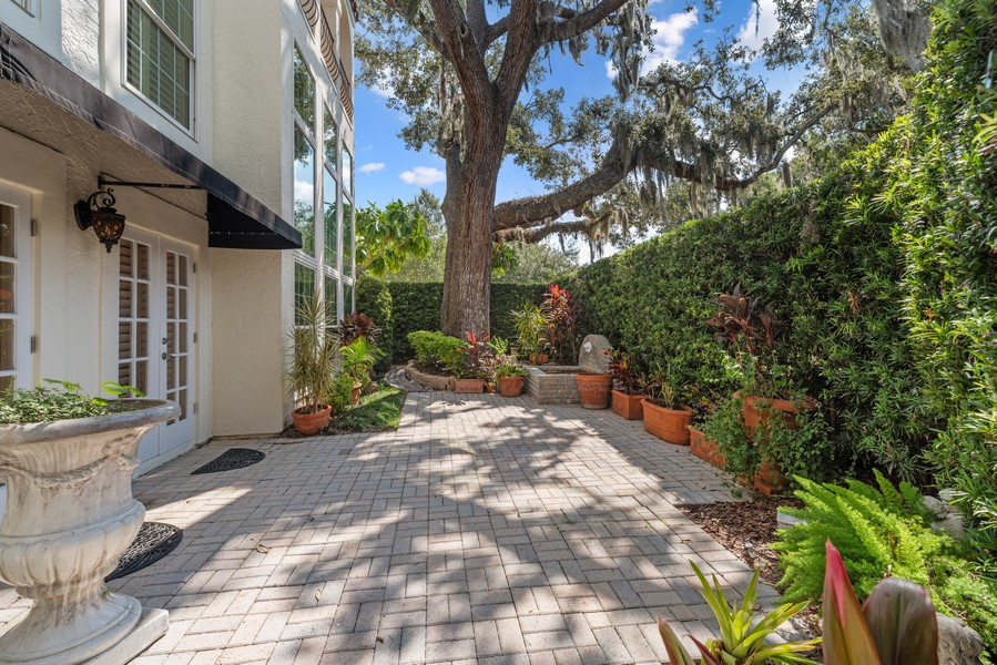 Real Estate Photography - 521 MELROSE AVENUE, WINTER PARK, FL, 32789 - Patio