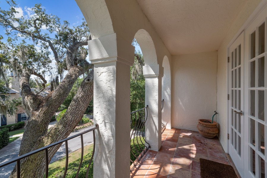 Real Estate Photography - 521 MELROSE AVENUE, WINTER PARK, FL, 32789 - Balcony