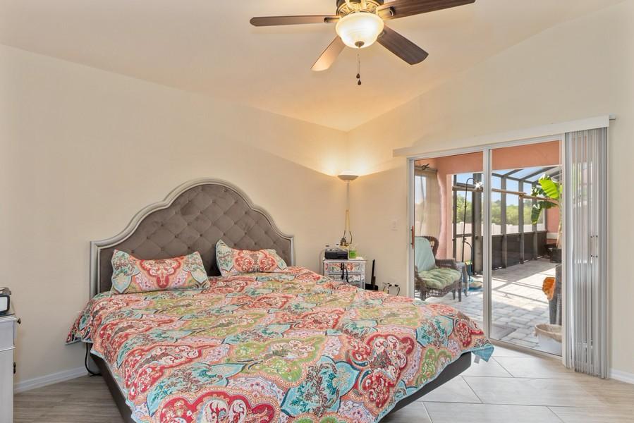 Real Estate Photography - 728 Cane Street East, Lehigh Acres, FL, 33974 - Master Bedroom