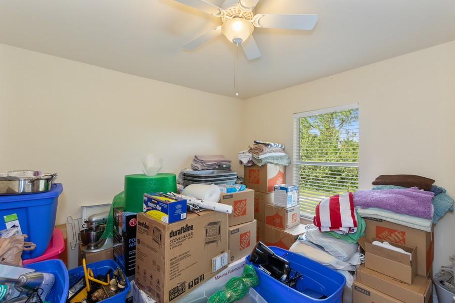Real Estate Photography - 728 Cane Street East, Lehigh Acres, FL, 33974 - 2nd Bedroom