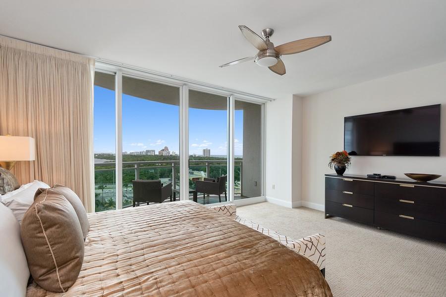Real Estate Photography - 2845 NE 9th St, Unit 905, Fort Lauderdale, FL, 33304 - Master Bedroom #1
