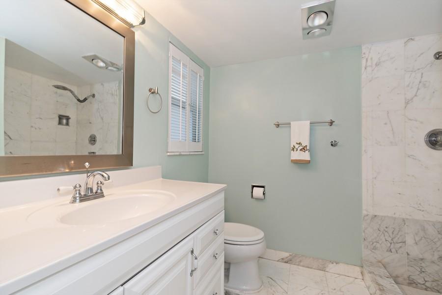Real Estate Photography - 2829 NE 33 Ct, Unit 401, Fort Lauderdale, FL, 33306 - Master Bath #2