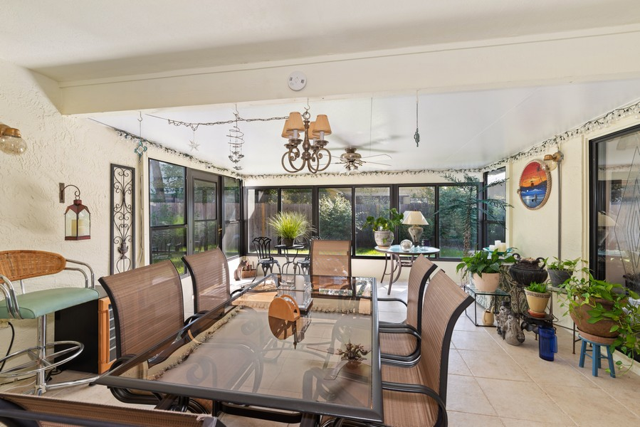 Real Estate Photography - 1647 Wild Fox Drive, Casselberry, FL, 32707 - Florida Room