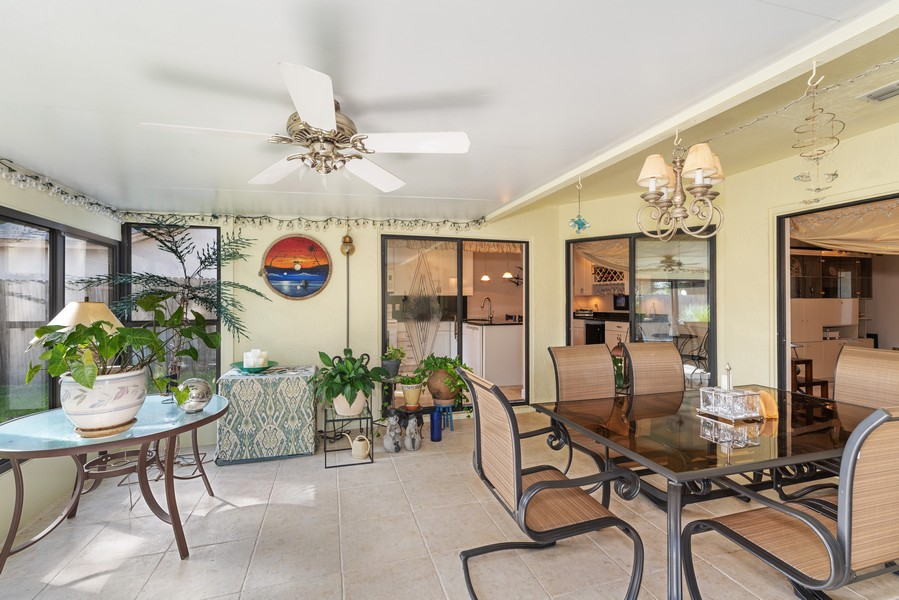 Real Estate Photography - 1647 Wild Fox Drive, Casselberry, FL, 32707 - Florida Room-5 Access Doors