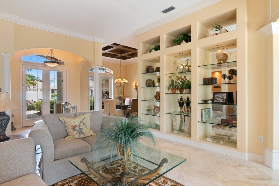 Real Estate Photography - 6618 The Masters Ave, Lakewood Ranch, FL, 34202 - Living Room