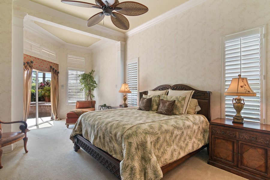 Real Estate Photography - 6618 The Masters Ave, Lakewood Ranch, FL, 34202 - Master Bedroom