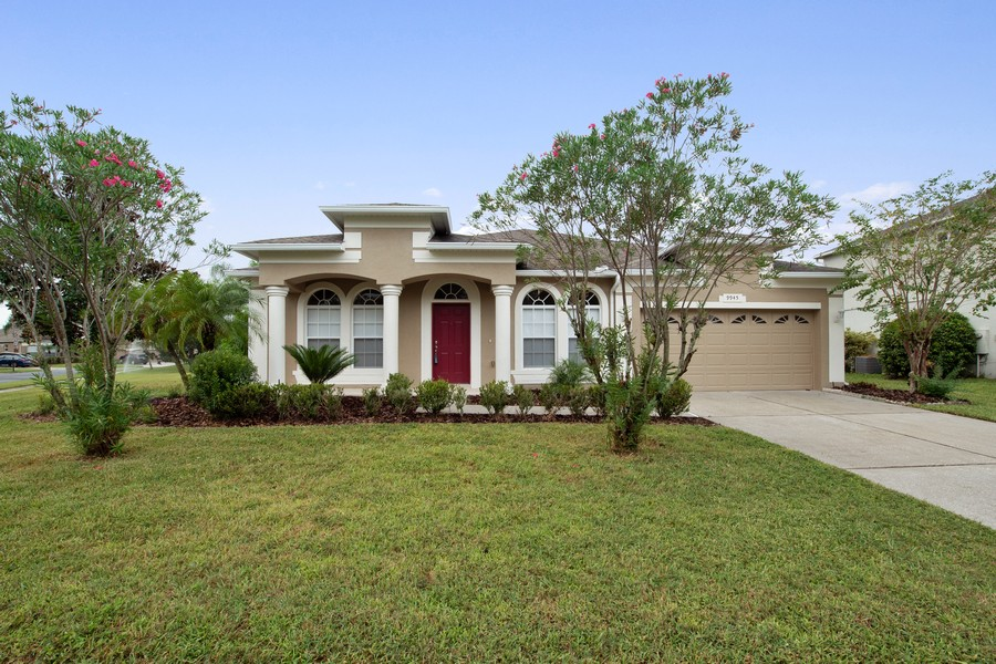 Real Estate Photography - 9945 MOUNTAIN LAKE DRIVE, ORLANDO, FL, 32832 - FRONT ELEVATION