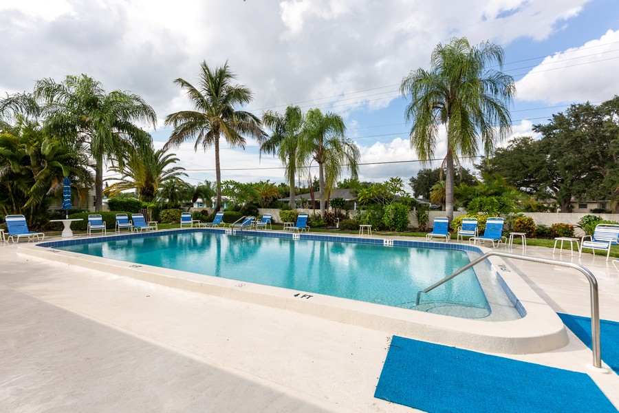Real Estate Photography - 1783 Lake Pl, 1793-A, Venice, FL, 34292 - Pool