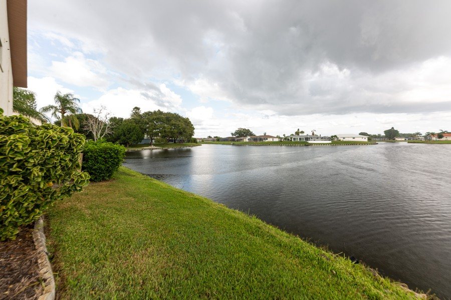 Real Estate Photography - 1783 Lake Pl, 1793-A, Venice, FL, 34292 - Side View