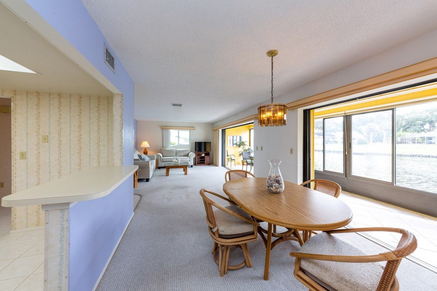Real Estate Photography - 1783 Lake Pl, 1793-A, Venice, FL, 34292 - Living Room/Dining Room