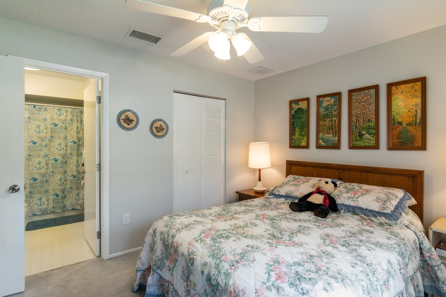 Real Estate Photography - 3607 Longmeadow, 45, Sarasota, FL, 34235 - 2nd Bedroom