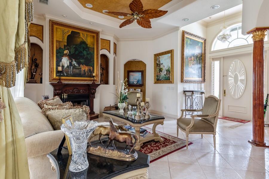 Real Estate Photography - 22 Madison Dr, Naples, FL, 34110 - Living Room