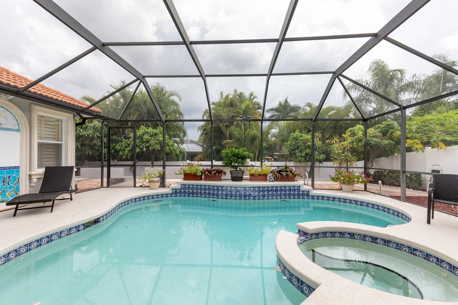 Real Estate Photography - 22 Madison Dr, Naples, FL, 34110 - Pool