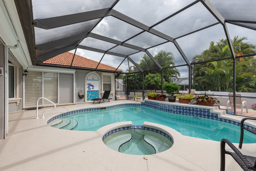 Real Estate Photography - 22 Madison Dr, Naples, FL, 34110 - Pool/Spa