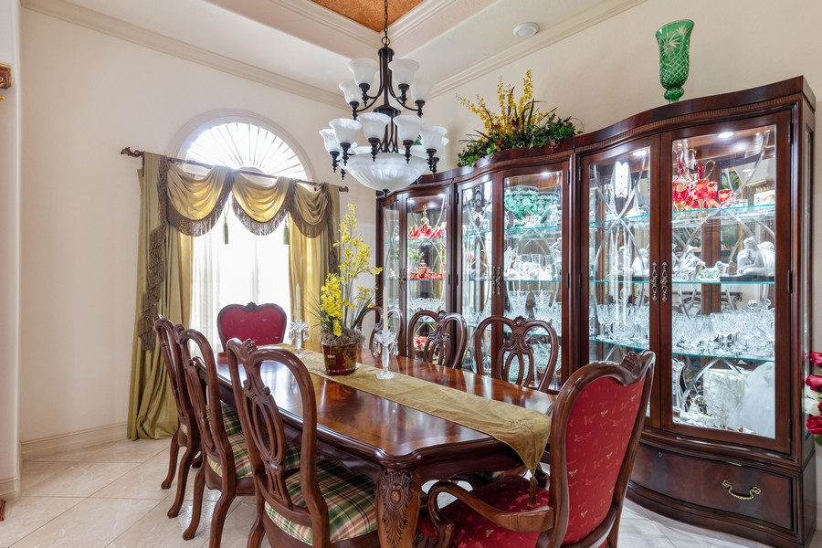 Real Estate Photography - 22 Madison Dr, Naples, FL, 34110 - Dining Room