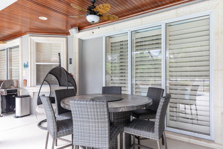 Real Estate Photography - 22 Madison Dr, Naples, FL, 34110 - Lanai