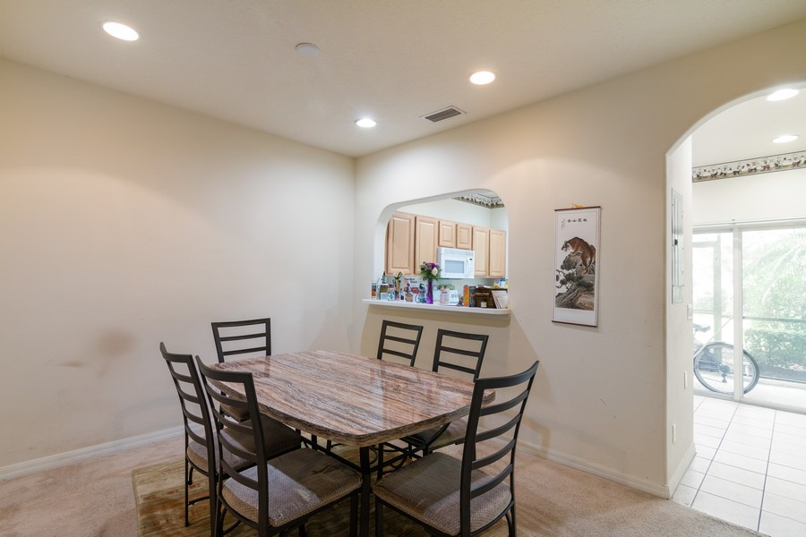 Real Estate Photography - 239 Cape Harbour Loop, Unit 103, Bradenton, FL, 34212 - Dining Room