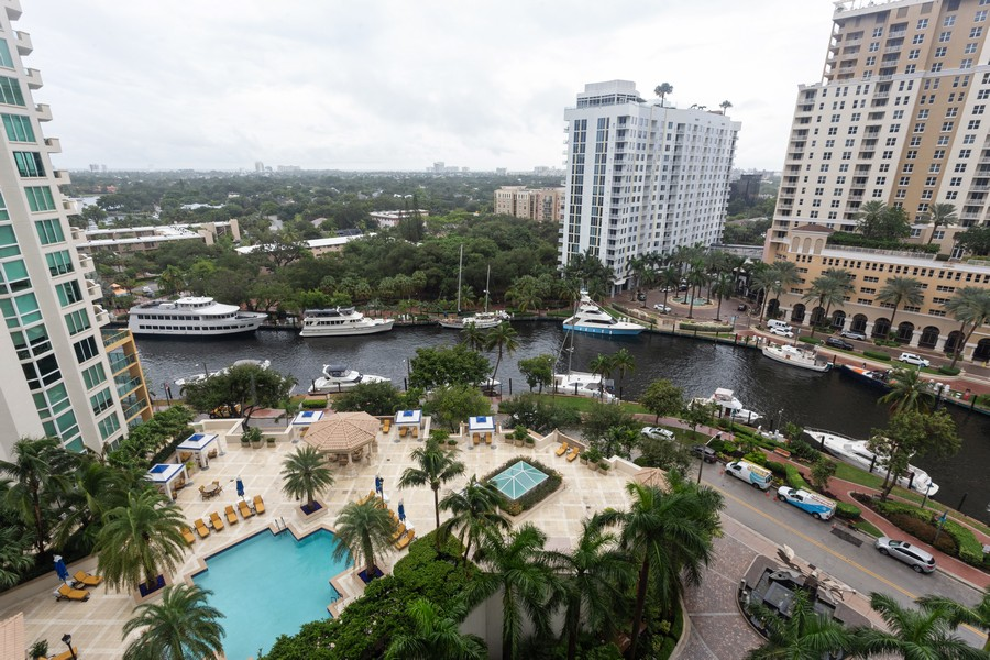 Real Estate Photography - 347 N New River Dr, Unit 1411, Fort Lauderdale, FL, 33301 - View