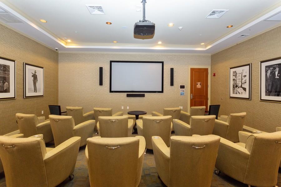 Real Estate Photography - 347 N New River Dr, Unit 1411, Fort Lauderdale, FL, 33301 - Media Room