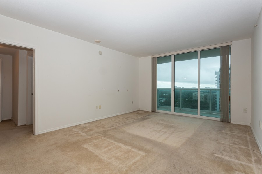Real Estate Photography - 347 N New River Dr, Unit 1411, Fort Lauderdale, FL, 33301 - Living Room