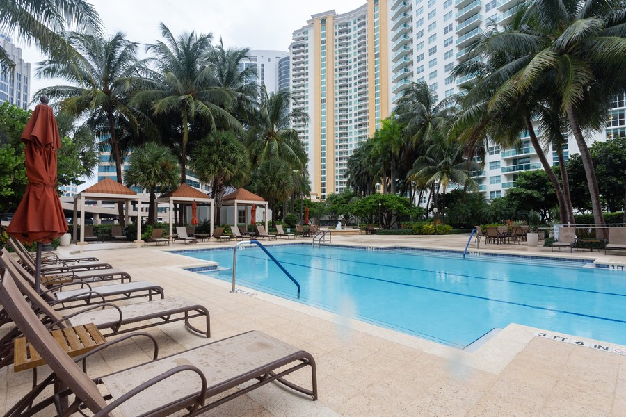 Real Estate Photography - 347 N New River Dr, Unit 1411, Fort Lauderdale, FL, 33301 - Pool