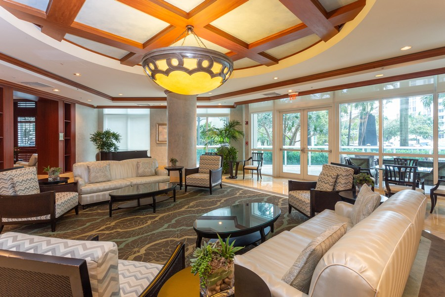 Real Estate Photography - 347 N New River Dr, Unit 1411, Fort Lauderdale, FL, 33301 - Clubhouse