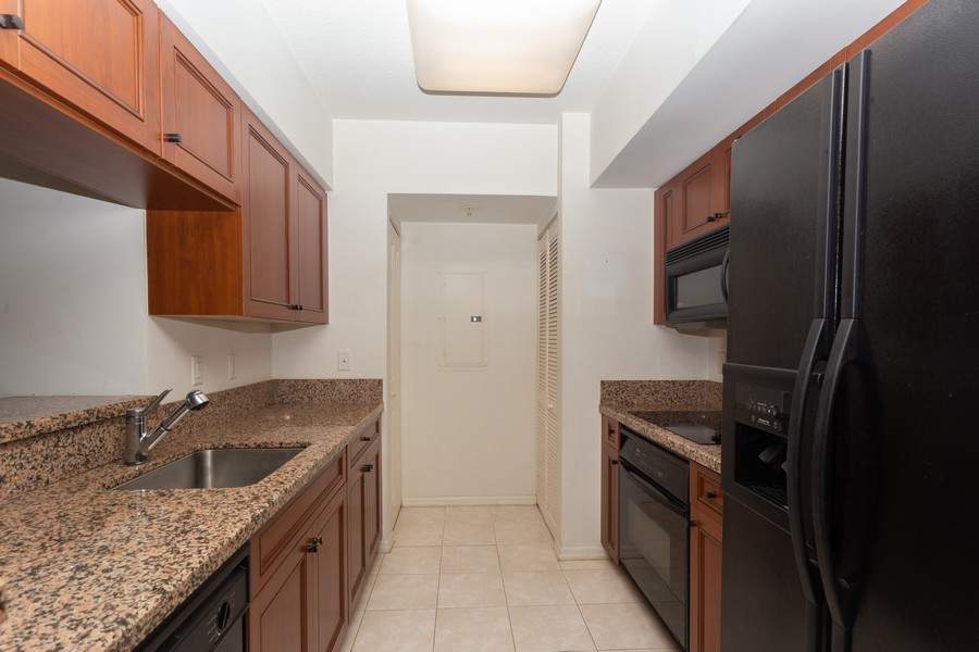 Real Estate Photography - 347 N New River Dr, Unit 1411, Fort Lauderdale, FL, 33301 - Kitchen