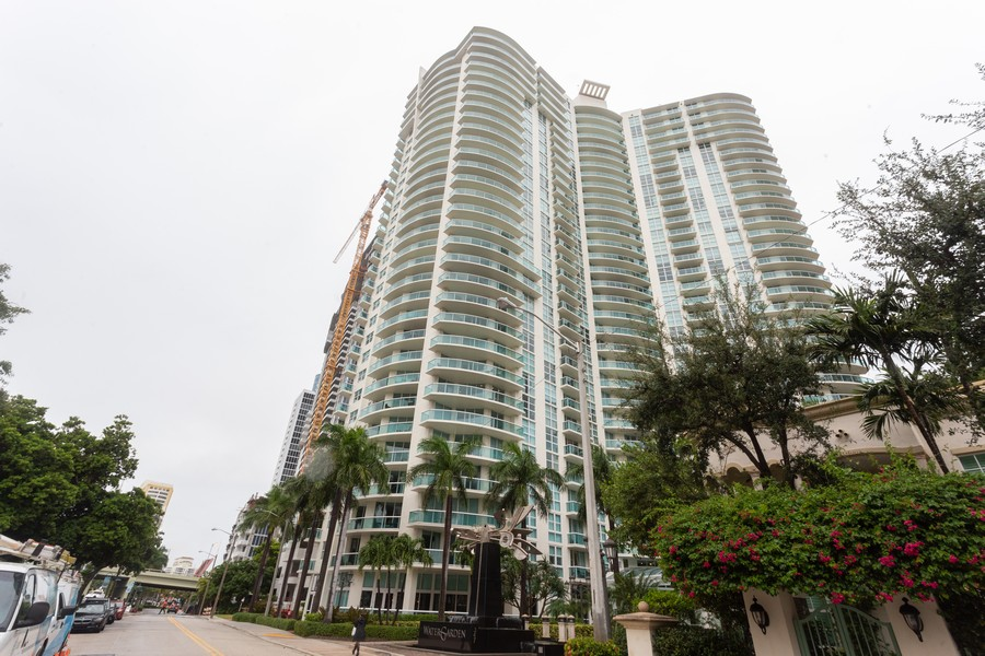 Real Estate Photography - 347 N New River Dr, Unit 1411, Fort Lauderdale, FL, 33301 - Front View