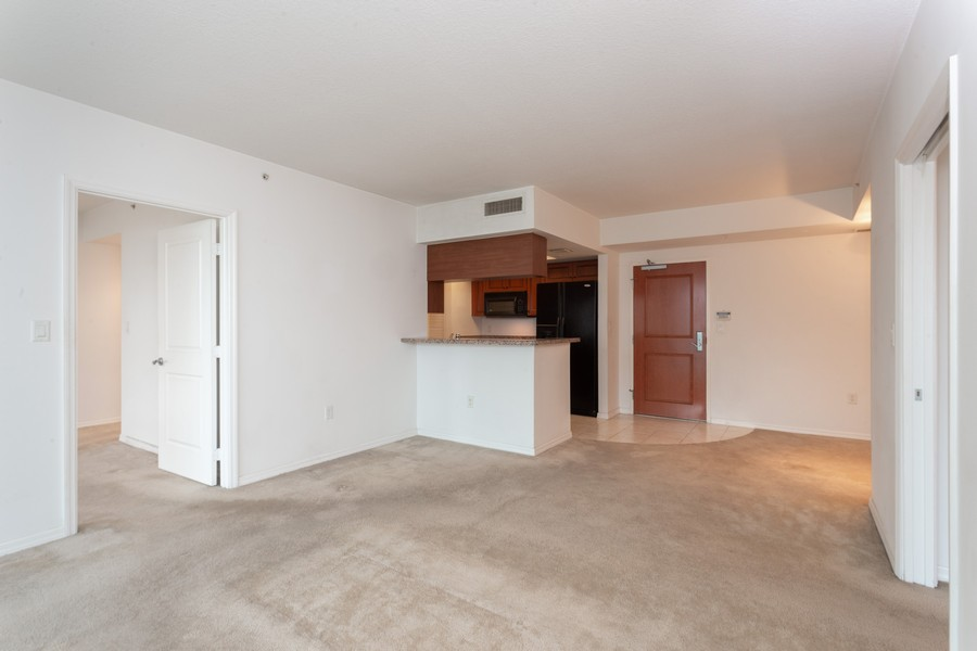 Real Estate Photography - 347 N New River Dr, Unit 1411, Fort Lauderdale, FL, 33301 - Living Room / Dining Room