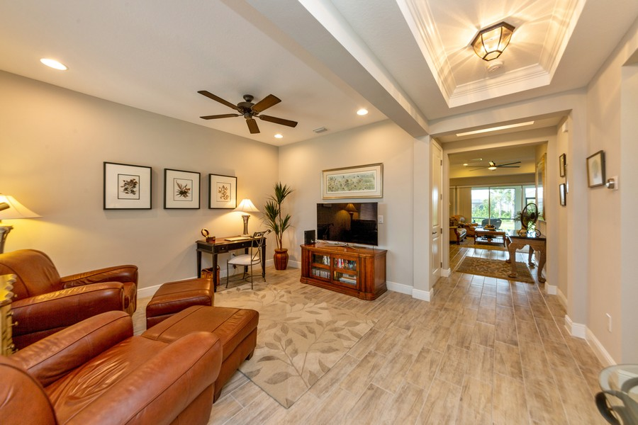 Real Estate Photography - 11660 Tapestry Lane, Venice, FL, 34293 - Living Room