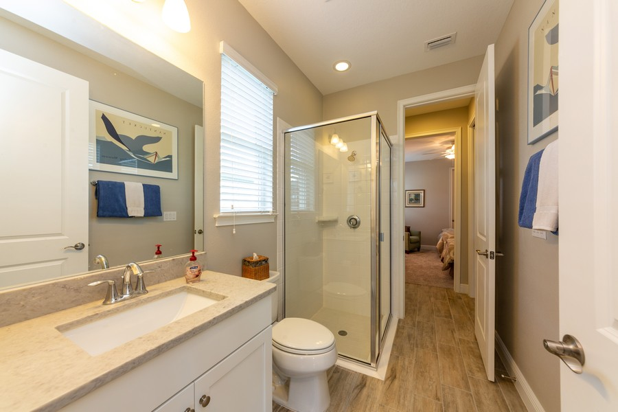 Real Estate Photography - 11660 Tapestry Lane, Venice, FL, 34293 - 3rd Bathroom