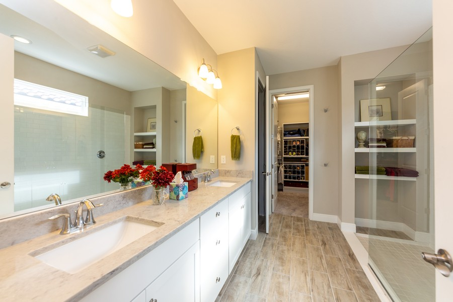 Real Estate Photography - 11660 Tapestry Lane, Venice, FL, 34293 - Master Bathroom