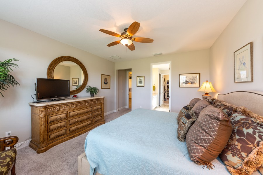 Real Estate Photography - 11660 Tapestry Lane, Venice, FL, 34293 - Master Bedroom