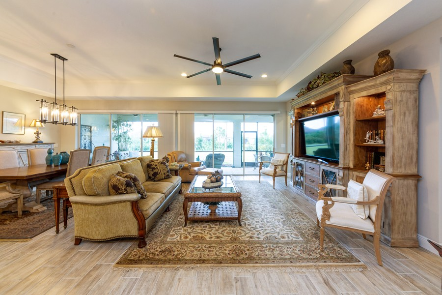 Real Estate Photography - 11660 Tapestry Lane, Venice, FL, 34293 - Family Room