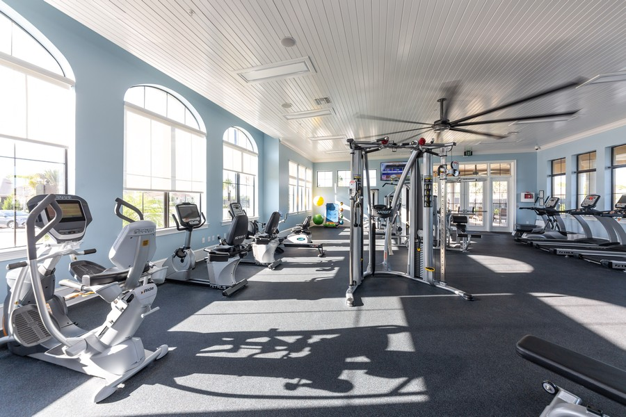Real Estate Photography - 11660 Tapestry Lane, Venice, FL, 34293 - Fitness Center