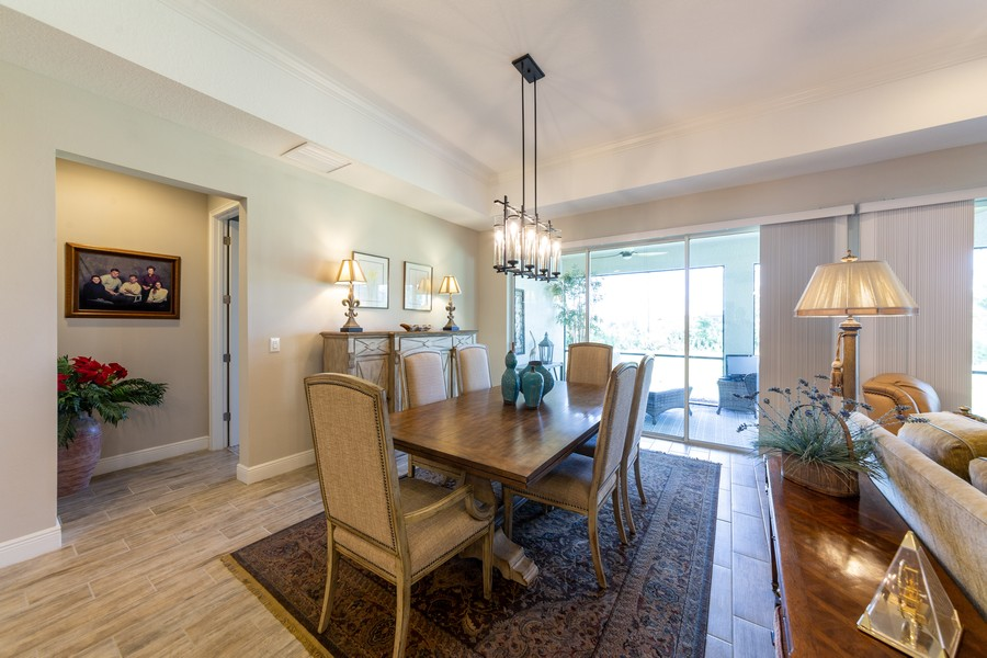 Real Estate Photography - 11660 Tapestry Lane, Venice, FL, 34293 - Dining Room
