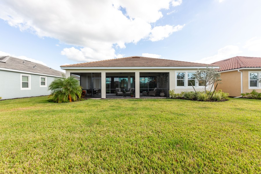 Real Estate Photography - 11660 Tapestry Lane, Venice, FL, 34293 - Rear View