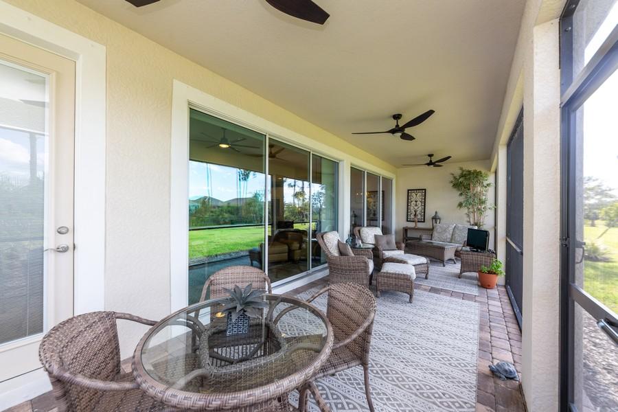 Real Estate Photography - 11660 Tapestry Lane, Venice, FL, 34293 - Lanai