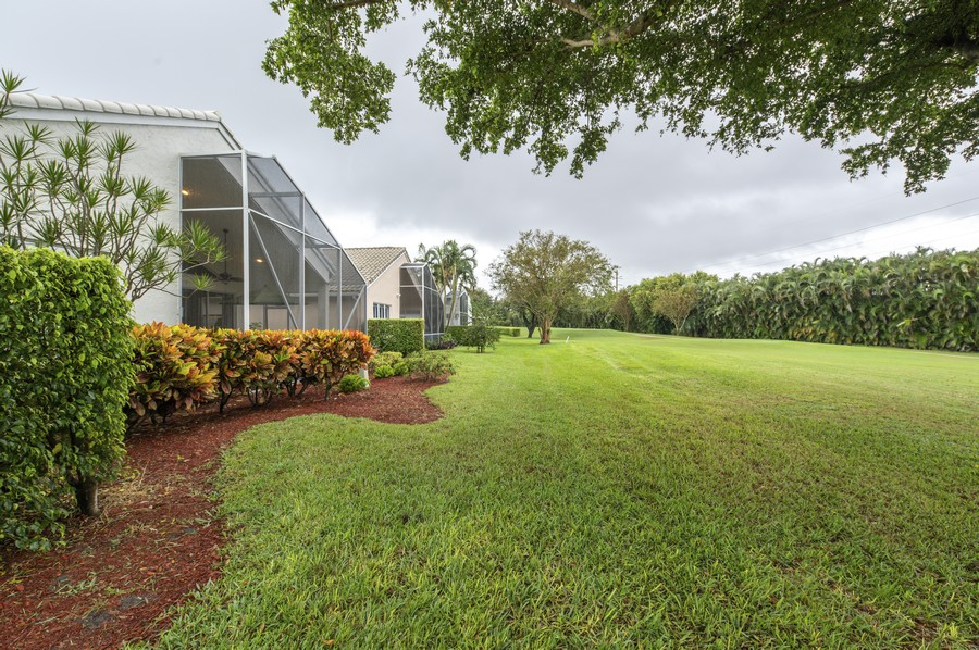 Real Estate Photography - 11877 Fountainside Circle, Boynton Beach, FL, 33437 - Back Yard