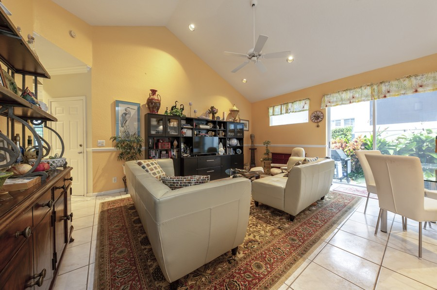 Real Estate Photography - 11877 Fountainside Circle, Boynton Beach, FL, 33437 - Family Room