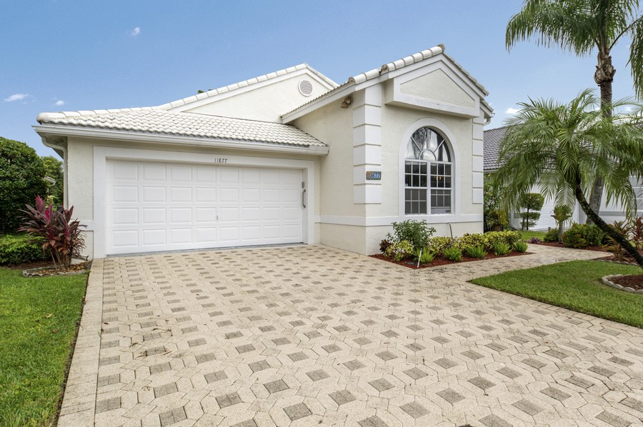 Real Estate Photography - 11877 Fountainside Circle, Boynton Beach, FL, 33437 - Front View